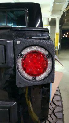 JK8, Wrangler, Custom Brake lights, tail lights