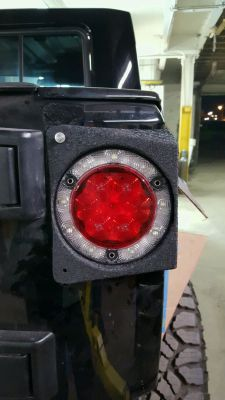 JK8, Wrangler, Custom Brake lights, tail lights