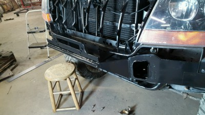 Jeep, Grand Cherokee, WJ, bumper, brush guard