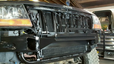Jeep, Grand Cherokee, bumper, brush guard, WJ