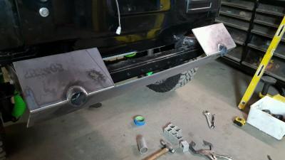 JK8, Jeep, Wrangler, bumper, brush guard, welding, fabrication