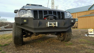 Jeep, WK, HEMI, Hemi, powder coat, winch, off road, off-road, fabrication, weld, fab