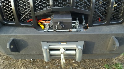Jeep WK HEMI Bumper Build w/ Winch