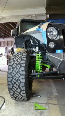 Jeep, Wrangler, JK8, fabrication, FMJ Offroad, Butler PA, Butler, PA, Pennsylvania