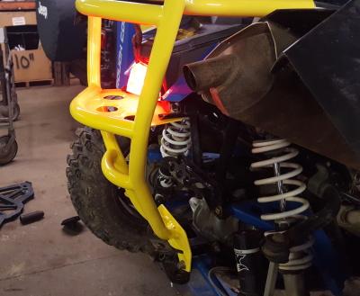Custo Quad Rear Bumper