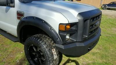 Ford Super Duty Front Bumper Build