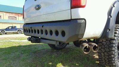 Ford Super Duty Rear Bumper Build
