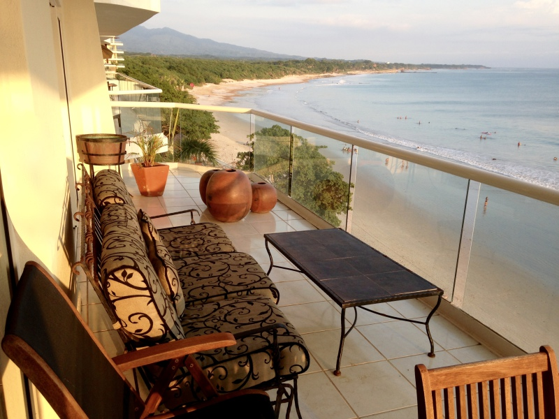 Balcony at Beachfront Punta Mita