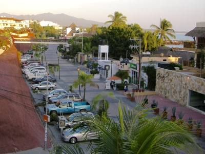 Punta de Mita boardwalk