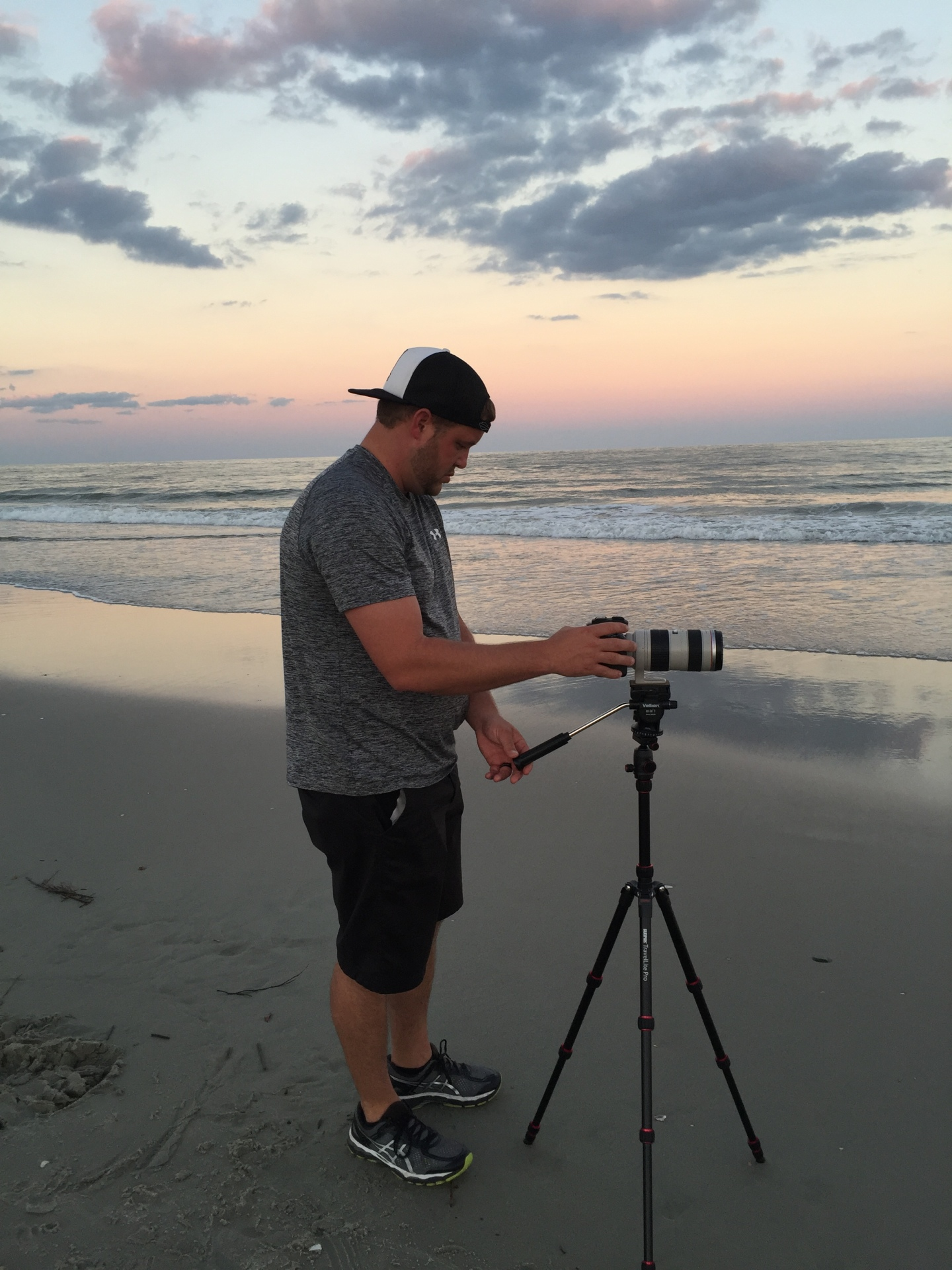 Me shooting the waves