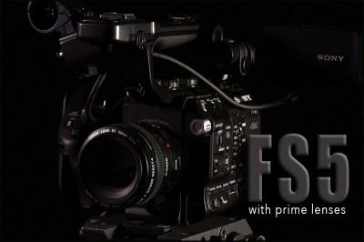 Sony FS-5 4K-2K