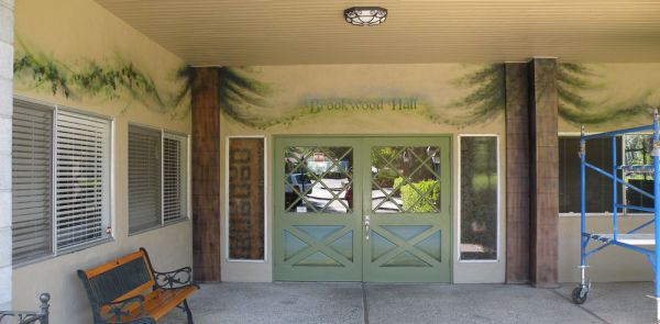 Brookwood Entry Mural