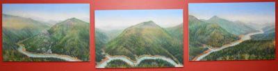 Shasta Lake Triptych
