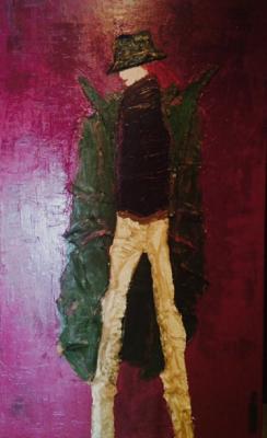 Autoportrait2 - Tribute to Gilles Rosier