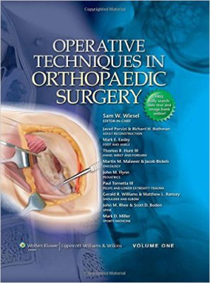 Operative Techniques in Orthopaedic Surgery