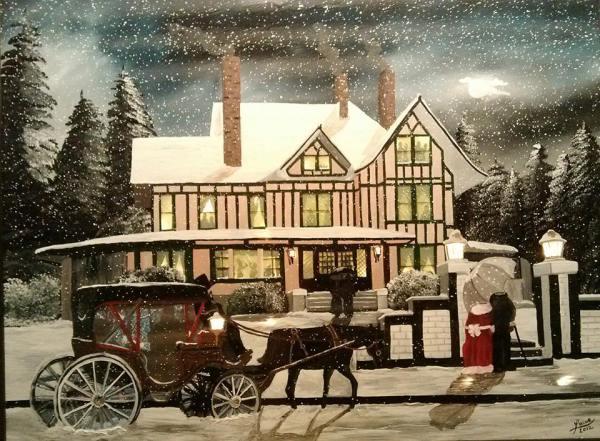 Winter House portrait