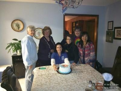 November 19, 2017- Happy Birthday Fort Worth Chapter