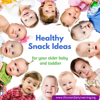 Healthy Snack Ideas for Your Older Baby & Toddler