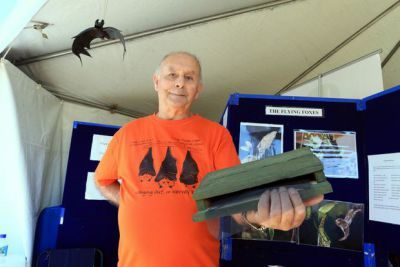 Bay's Bat Man shares history of sky mammals