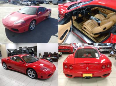 1999 Ferrari 360 Full Paint Correction