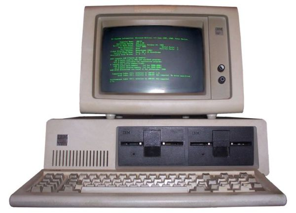 Old Compaq Computer Technology