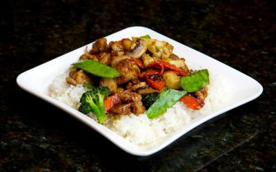 Chicken veg stir fry