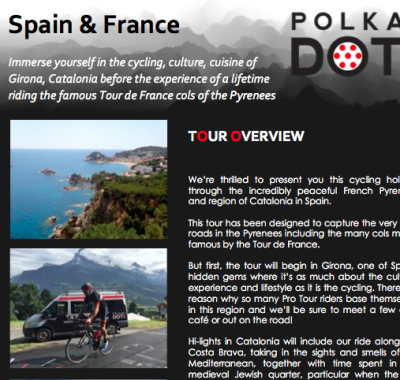 Cycling Tours Pyrenees