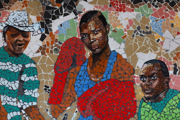 Detail, - Celebrating the Kenyan athlete