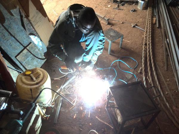 Daniel at Work