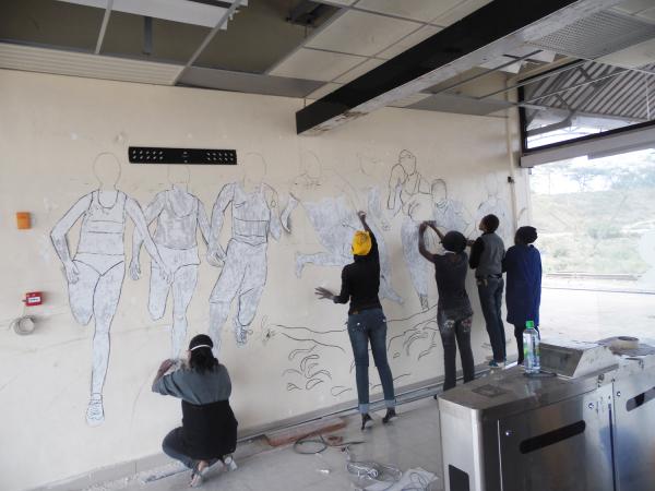 Mural Sketching