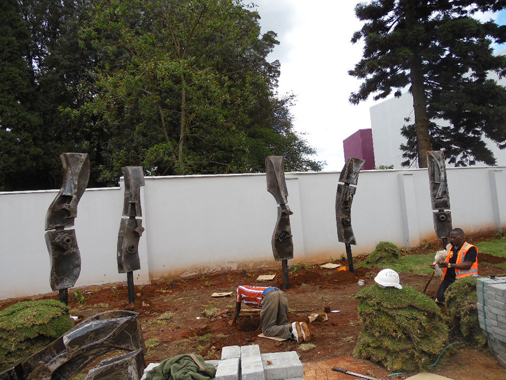 Gate Keepers installation