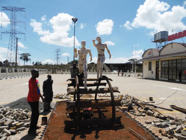 Installation of Athletes