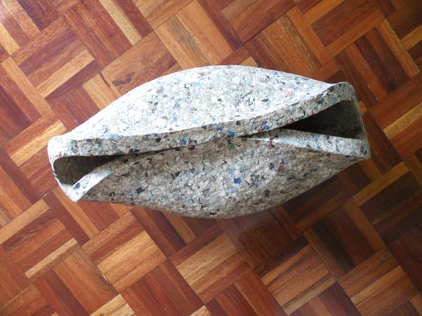 Papier Mashe shell