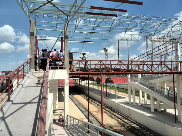 Makadara Railway station