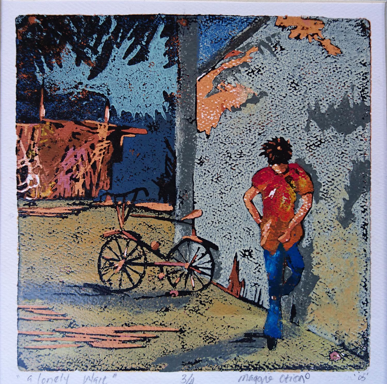 A Lonely Wait - Colour Print