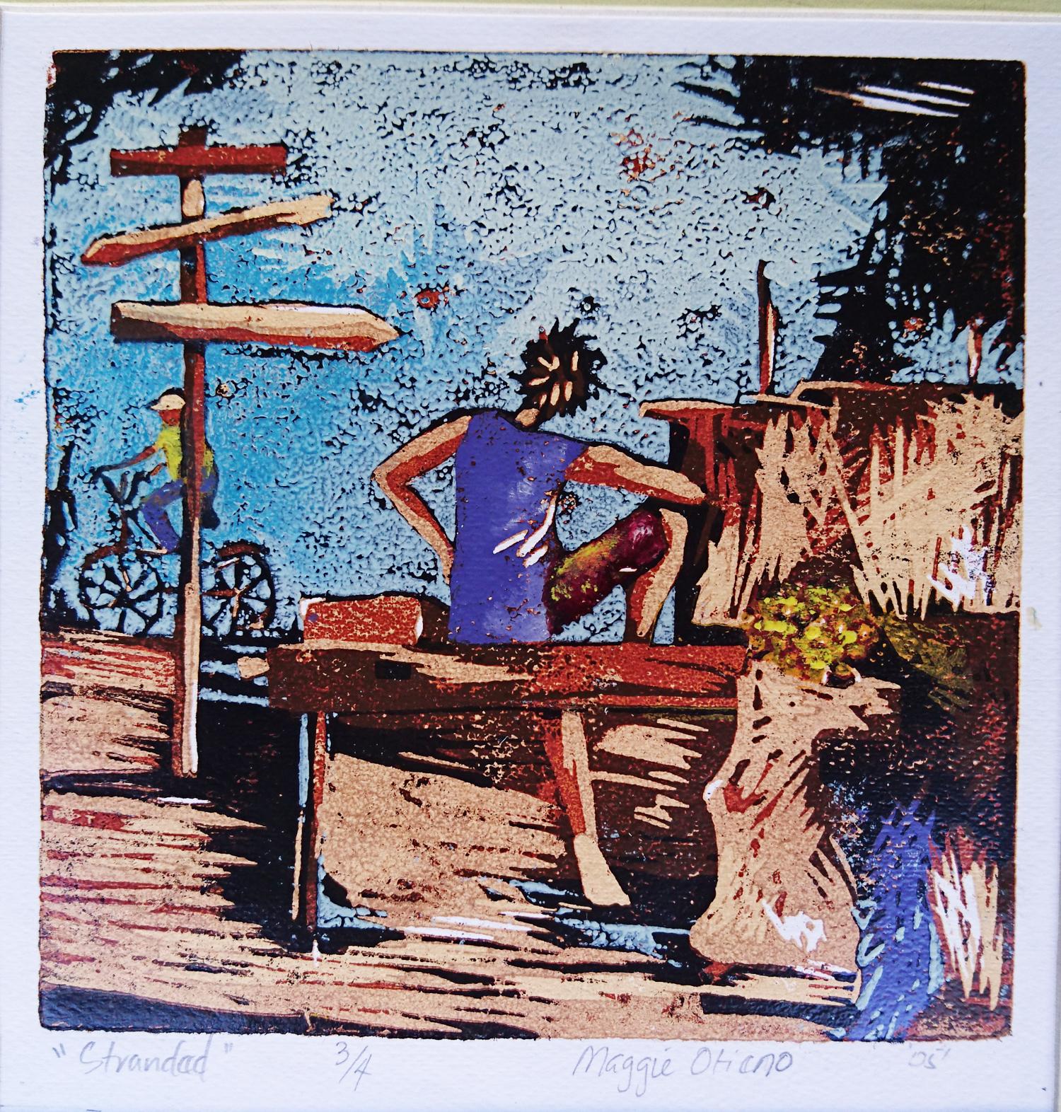 Stranded - Colour Print