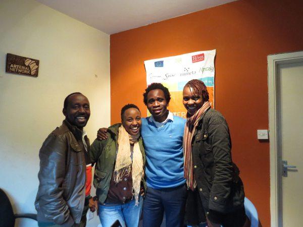 Arterial Network Kenya visit