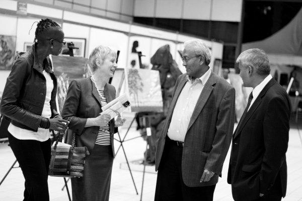 Opening of the Kenya Art Fair 2016