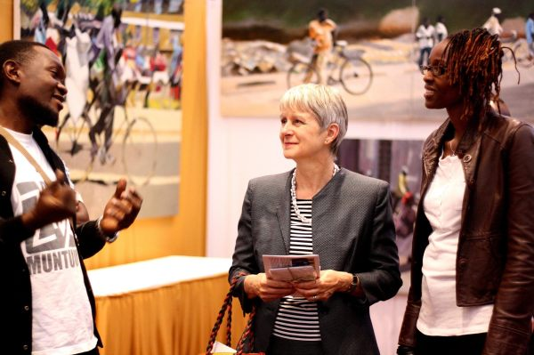 The Opening of the Kenya Art Fair 2016