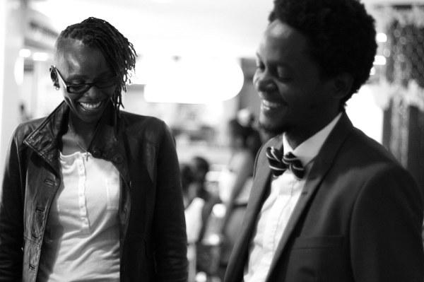 Maggie Otieno and Cyrus Kabiru - Kenya Art Fair 2016