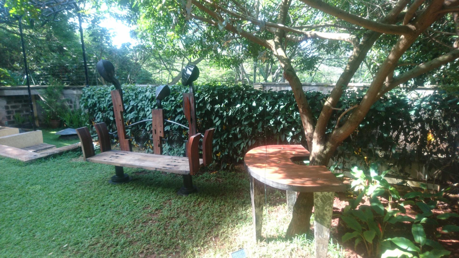 'When we had Conversation' Garden furniture