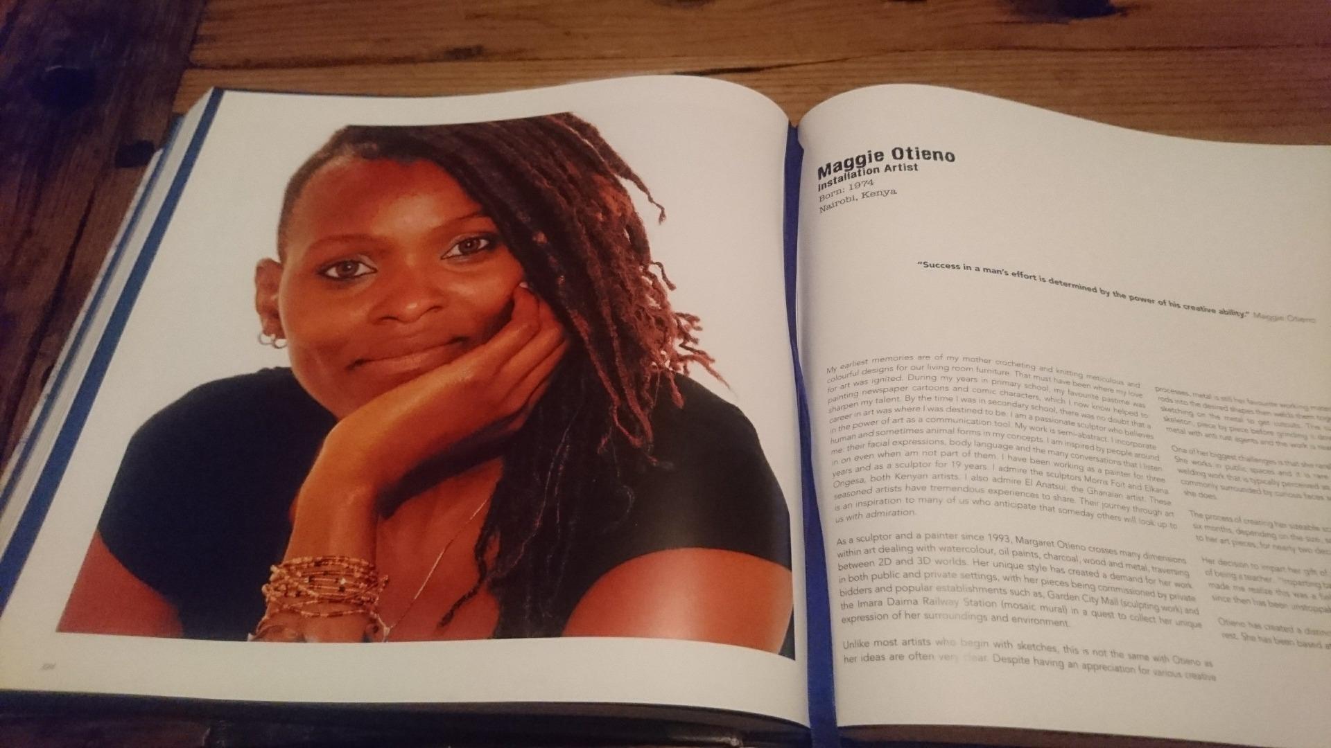 Visual Voices, artist book, Kenya art book