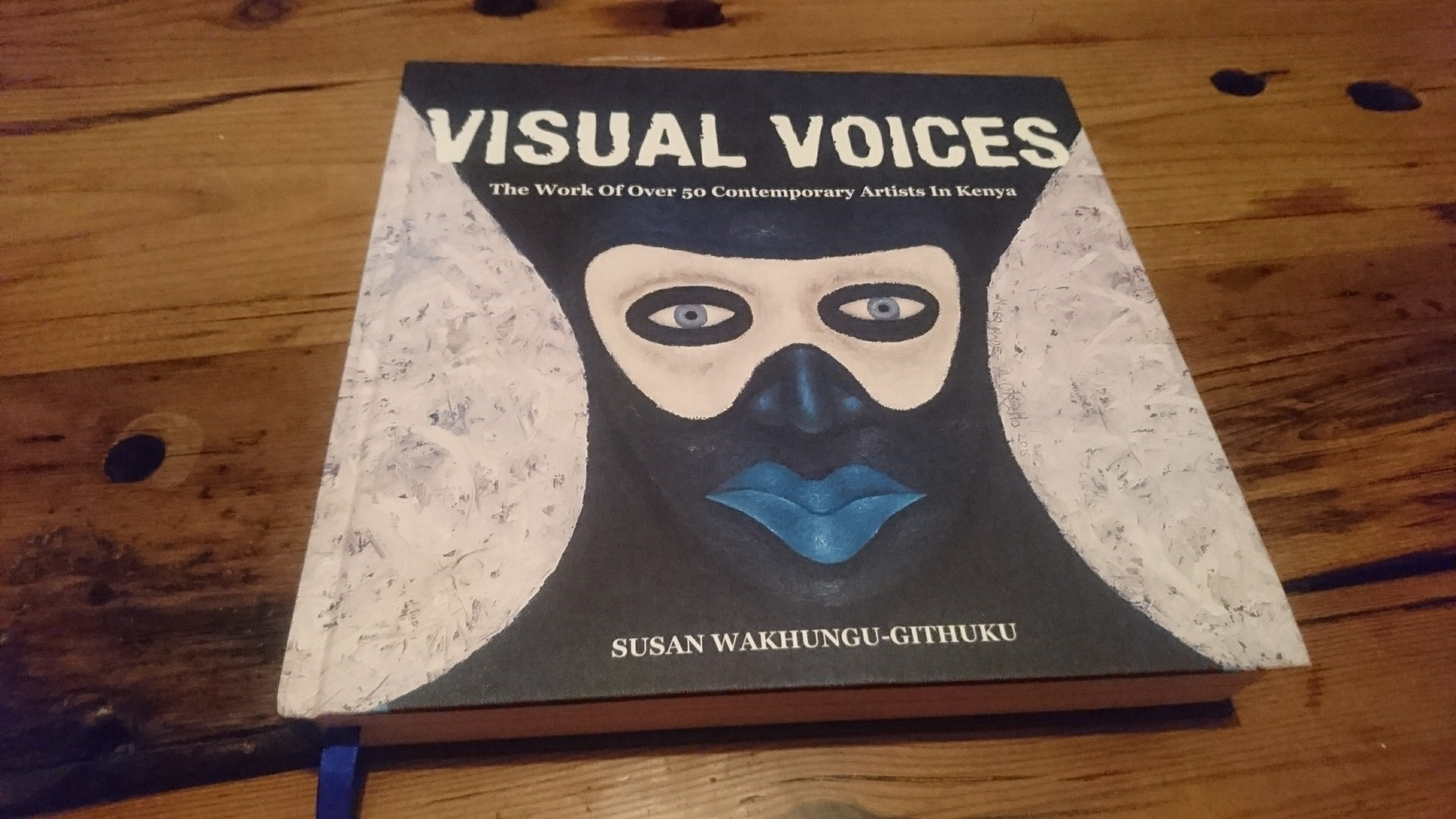 Visual Voices, artist book, Kenya art book