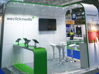 4m x 3m stand install London