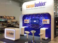 4m x 3m exhibition stand installation