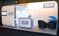 6m x 3m exhibition stand hire Blackpool Hilton