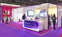 10m x 5m möbius exhibition stand hire ExCel London