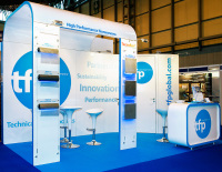 5m x 3m exhibition stand hire