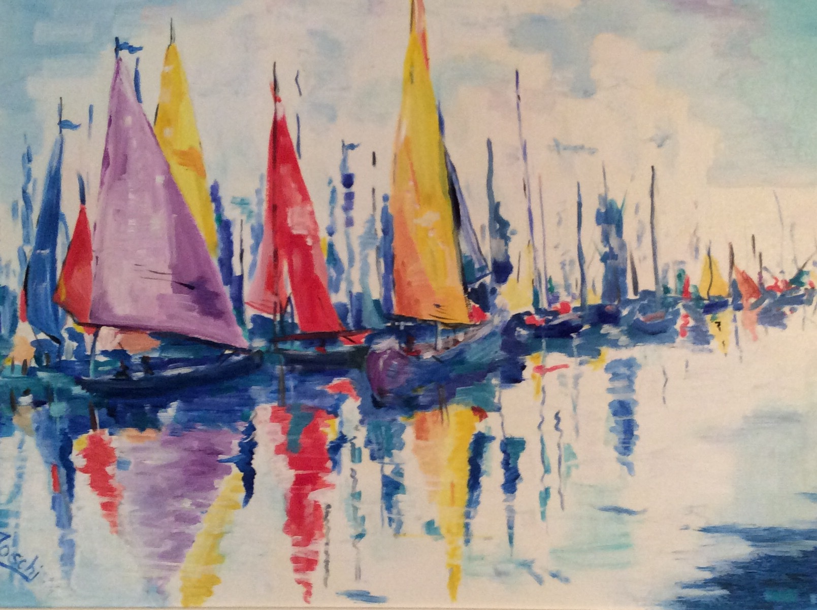 Sailboats at Rest