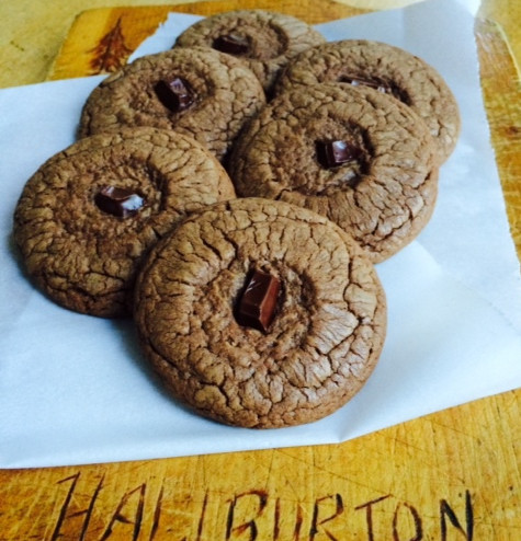 Chocolate Kahlua Cookies